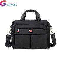 Business Portable 14 Laptop Bags Crossbody Briefcase Men Bag Bolsas Homme Large Capacity Oxford Briefcases For Men B46