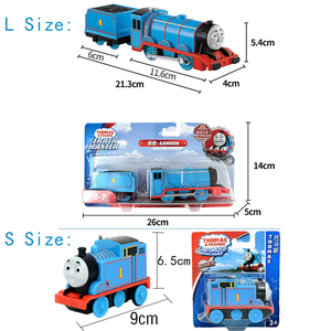 Image 2 - Original Electric Thomas and Friends 1:43 Diecast Track Master Trains Motor Metal Model Car Battery Material Kids Toy Brinquedo