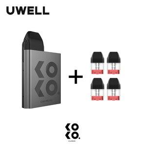 Image 4 - UWELL Caliburn KOKO Pod System Kit and 1Pack 1.2ohm 2ml Refillable Pod Cartridge Top Fill Vape Pod System