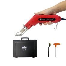 Ks Eagle-cuchillo eléctrico caliente de 80W para cortar tela, cuerda, plástico, acrílico y sellado de tejidos sintéticos, cortador de tela