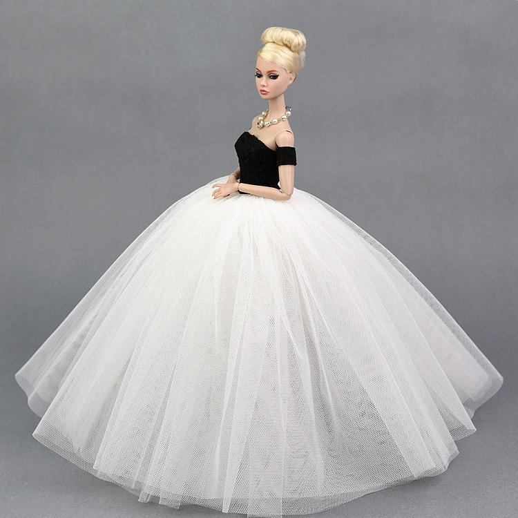 Den nya prinsessan för barbie dockklänning leksaker flickor - Dockor och tillbehör - Foto 5