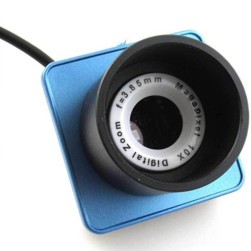 กล้องโทรทรรศน์ 80W พิกเซล 1.25 นิ้ว USB ดิจิตอลเลนส์ช่องมองภาพอิเล็กทรอนิกส์กล้องกล้องโทรทรรศน์ดาราศาสตร์อุปกรณ์เชื่อมต่อ