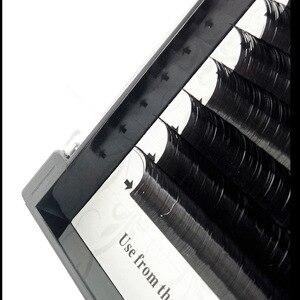Image 4 - Klasik kirpik uzantıları vizon bireysel Lashes el yapımı profesyoneller yumuşak B C CC D DD ücretsiz hızlı kargo