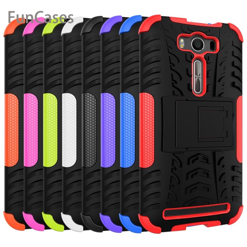 for ASUS Zenfon <font><b>2</b></font> Laser Z00ED ZE500KL <font><b>ZE</b></font> <font><b>500KL</b></font> 500 ZE500 KL Z00E Case Hard PC+Silicone Phone Bag Case for ASUS_Z00ED Cover image