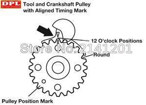 Image 5 - Kit doutils de verrouillage universel pour moteur Diesel, caméra de synchronisation, pour VW AUDI T10050 T10100, 6 pièces