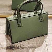 Fashion Messenger Bags Genuine Leather Shoulder Bag Crossbody Bags for Women Luxury Handbags Women Bags Designer Bolsa Feminina