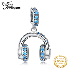 JewelryPalace стерлингового серебра 925 бусины подвески Fit браслет Оригинал наушники оригинал для изготовления ювелирных изделий