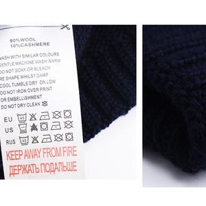 Image 4 - FURTALK Wool Cashmere Men Winter Hat Man Knitted Beanie Skullies Warm Winter Male Beanie Cap Black Grey