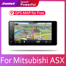 Android 8 Core For Mitsubishi ASX 2013 2014 2015 2016 2017 2018 2019 Car Radio BT 3G4G WIFI AUX USB GPS Navi Multimedia накладка заднего бампера mitsubishi mz576692ex для mitsubishi asx 2016