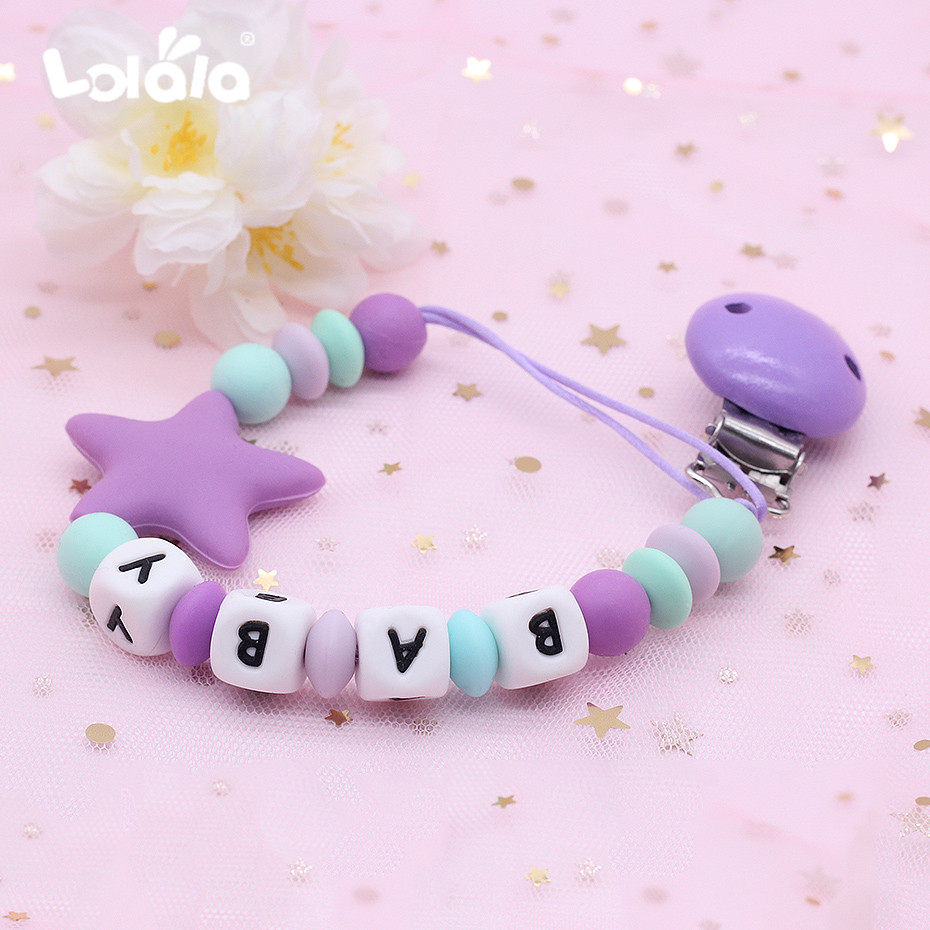 LOVE ISLAND ALL TEATS,SIZES /& COLOURS PERSONALISED DUMMY PACIFIER SOOTHER