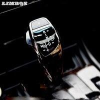 RHD LHD gear shift knob for f48 BMW X1 series 2014 2019 car electric LED gear knob lever shifter 5 minutes easy installation