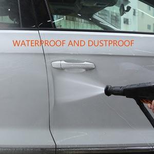 Image 4 - Auto Aufkleber Automobil Stamm Tür Sill Protector Film Tür Rand Schutzhülle Transparent Nano Multi Funktion Kleber Auto Schutz