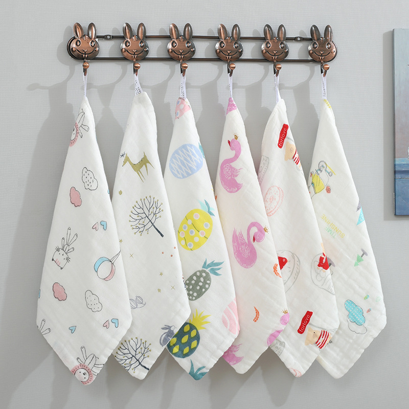 30x30cm 1pc Baby Towel Newborn Muslin Squares Baby Towels And Wash Cloths Comfort Baby Muslin Squares Muselina Bebe Algodon