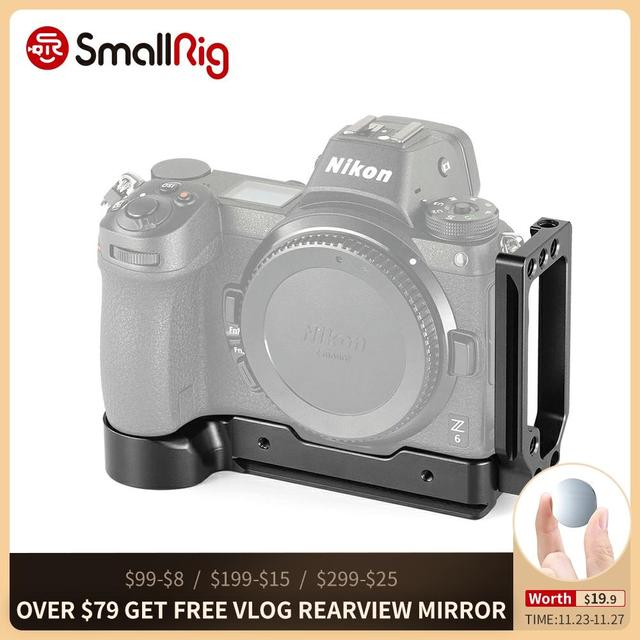 SmallRig DSLRกล้องZ6 L L BracketสำหรับNikon Z6 และNikon Z7 กล้องARCAสไตล์แผ่น 2258