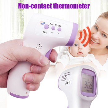 Non Contact Digital Infrared Forehead Thermometer Body Temperature Meter Measuring Handheld BJStore