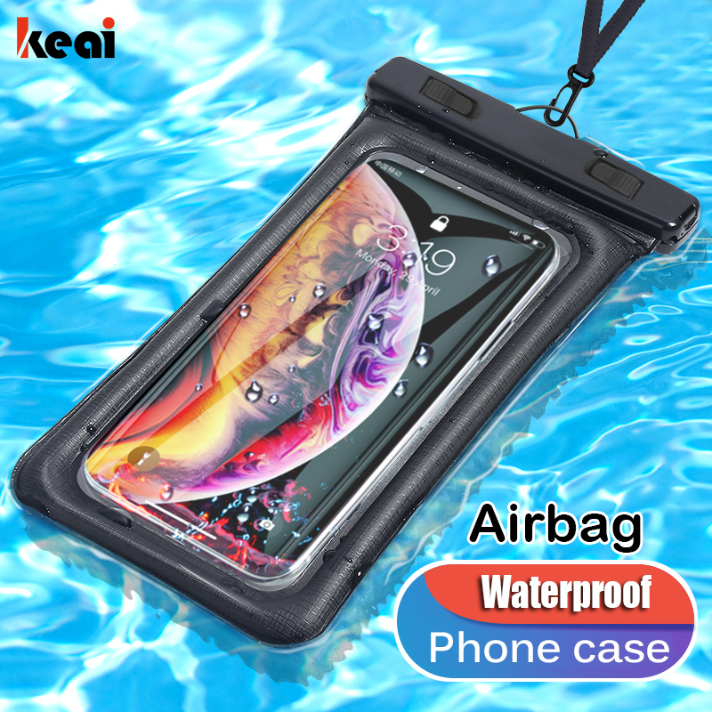 IPX8 Universal Waterproof Phone Case Water Proof Swim Pouch Bag For iPhone 11 Samsung A51 Huawei Xiaomi Redmi Note 8 9 Pro Cover