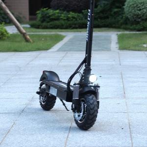 Image 4 - Flj 2400w adulto scooter elétrico com assento dobrável hoverboard pneu gordura kick scooter elétrico e scooter