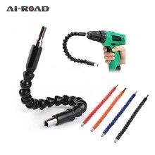 295 мм гибкий вал, шестигранная электрическая дрель, Универсальный вал, удлинительная отвертка, держатель бит, соединительный стержень, инструменты для ремонта автомобиля, черный цвет