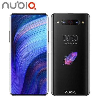 Перейти на Алиэкспресс и купить Новый ZTE Nubia Z20 мобильный телефон с двумя sim-картами 48MP 8 ГБ ОЗУ 128 Гб ПЗУ Snapdragon855 + 6,42 дюйм1080x2340 Android9.0 смартфон с двойным экраном