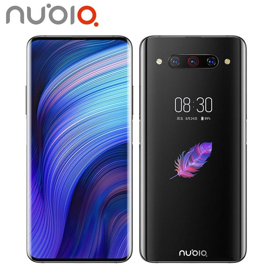 Versão da ue zte nubia z20 duplo sim telefone móvel 48mp 8 gb ram 128 gb rom snapdragon855 + 6.42