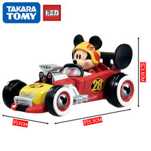 TarakaTOMY Simulation Car Alloy Model Pooh Dream Star Mickey Cartoon Toy Metal