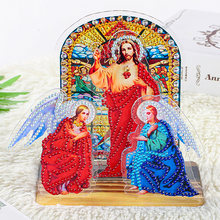5d diy Алмазная картина католический Иисус религия мозаика Стразы