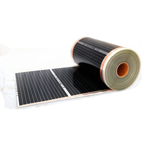 Image 5 - 50 Square Meters Electric Floor Heating Mat Infrared Radiant Heat Film Mat with Wifi Room Thermostats Clamps