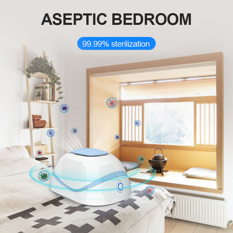 Smart Home Disinfector And Anti- Home Air Purifier Portable Ozone Generator Air Purifier Eliminate The