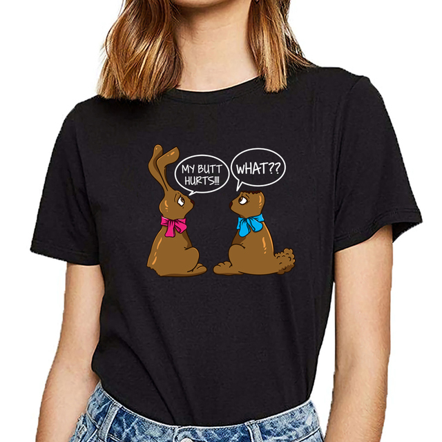 Funny Easter bunny T-Shirt  1