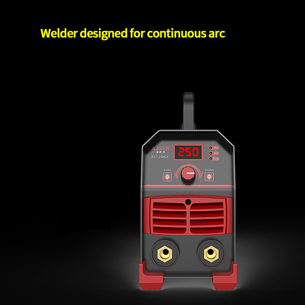 Welding Machine DC Inverter 225A Electric Welding Tool Automatic Household Miniature Copper Mini 220v Box Combination Electrical