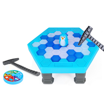 Penguin Game Ice Pick Challenge Desktop Game Toys Interactive Parent Child Toys Board Game kids desktop game fruit stick educational toys board game party game toys for children parent offspring