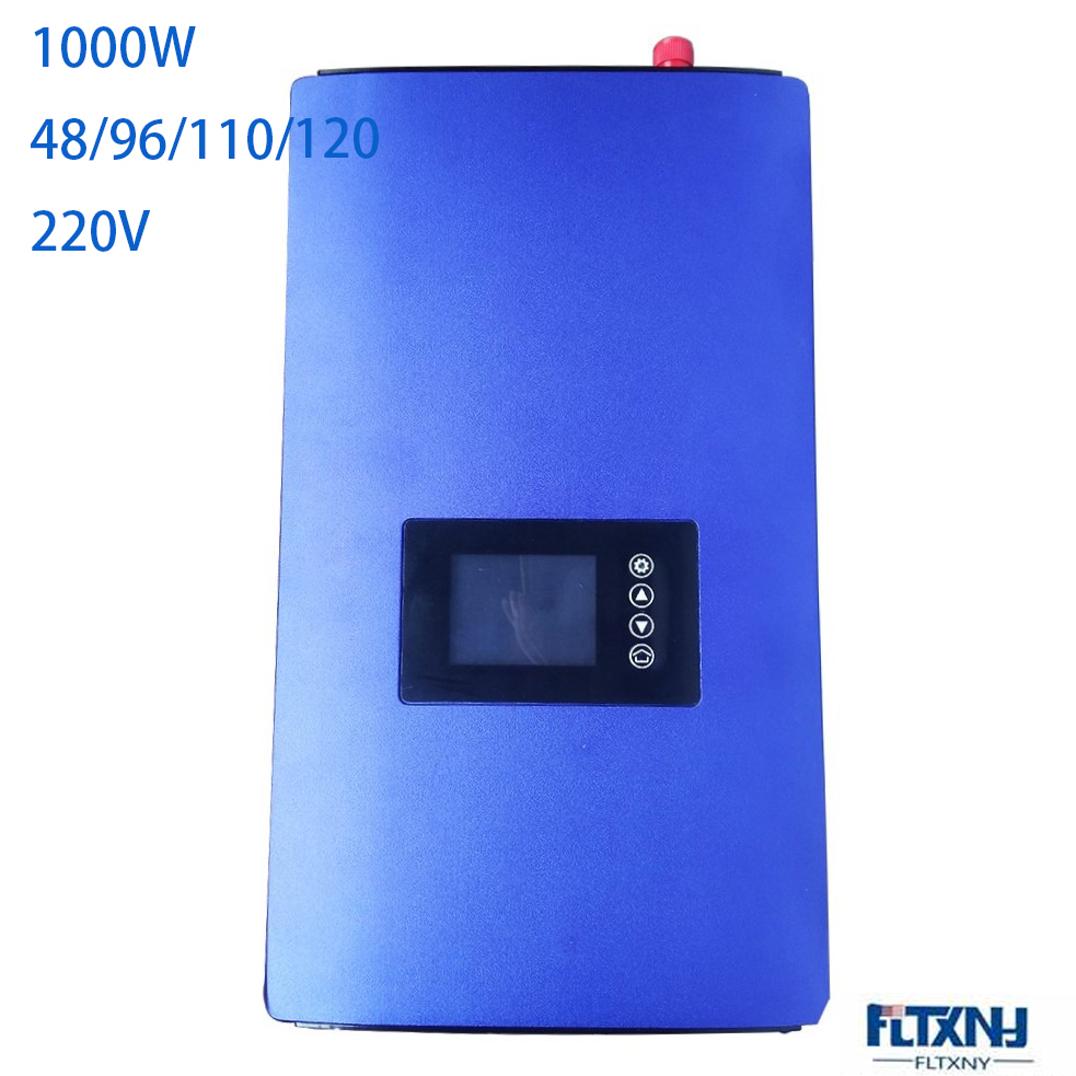 1KW onde sinusoïdale Pure 48/96/110/120 V   Onde sinusoïdale Pure sur grille, onduleur vent bult dans grille avec affichage à la mode