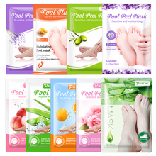 PUTIMI 9Packs Moisture Exfoliating Foot Mask Remove Dead Skin  Foot Peeling Mask Pedicure Socks for Heels Anti Crack Foot Care