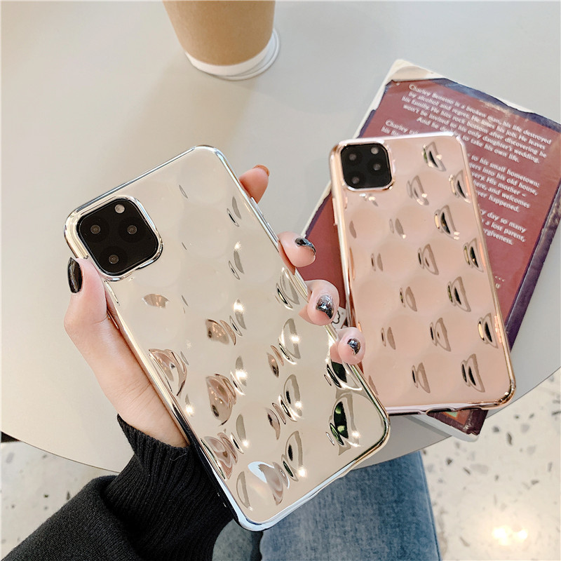 Texured Rose Gold iphone 11 case