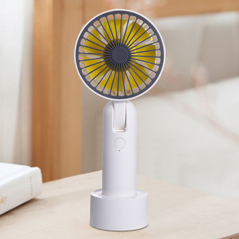 Mini USB Portable Fan 3 Speed handheld Air Cooler Electric Rechargeable Adjustable Cooling Fan for Home Office