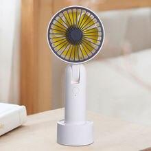 Мини usb портативный вентилятор 3 скоростной ручной воздушный