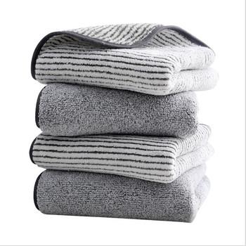 Bambusowy węgiel drzewny koralowy aksamitny zestaw ręczników kąpielowych dla dorosłych miękki bambus z włókna węglowego łazienka z wanną zestawy ręczników ręcznych 70x140cm 35x75cm tanie i dobre opinie WINJAUNT CN (pochodzenie) Bez wzorków wyszywana Rectangle NLYFZ można prać w pralce 5 s-10 s Stałe 80 włókna poliestrowego + 20 poliamidu