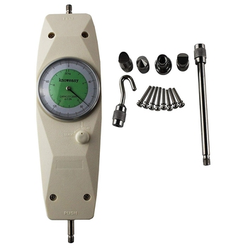 Force Gauge,NK-200 Mechanical Analog Push Pull Gauge Thrust Pressure Meter