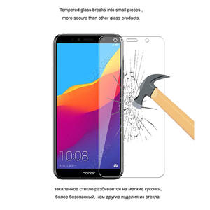 Image 4 - Protector de cristal para Huawei Honor 7A / Honor 7A Pro, Protector de pantalla de vidrio templado Premium para Huawei Honor 7A Pro