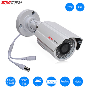 Image 1 - 아날로그 ahd 비디오 감시 카메라 1080 p 2.0mp 3000tvl ntsc/pal 방수 cctv dvr 카메라 나이트 비전 보안 감시