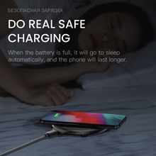 iONCT 10W Fast qi wireless charger for iPhone X XR XS USB wirless Charging for Samsung Xiaomi Huawei phone charger wireless pad