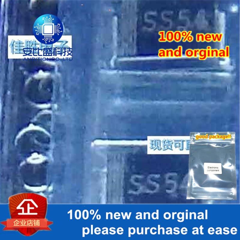 50pcs 100% New And Orginal SS54B 5A40V DO214AA Silk-screen SS54 In Stock
