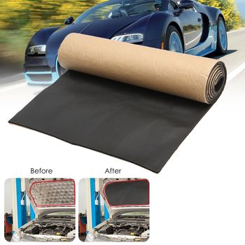 1Roll 200cmx50cm 10mm/6mm/3mm Car Sound Proofing Deadening Car Truck Anti-noise Sound Insulation Cotton Heat Closed Cell Foam