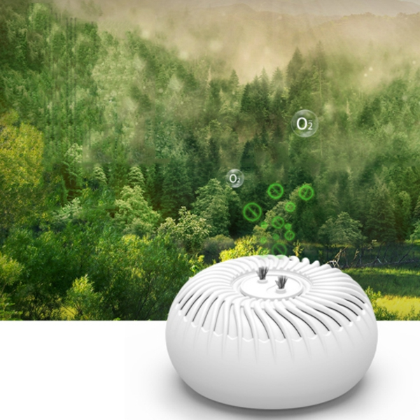 2 In 1 Negative Ion Air Purifier Ultrasonic Mite Killer Air Fresher Bed Bugs Killer For Car/Home