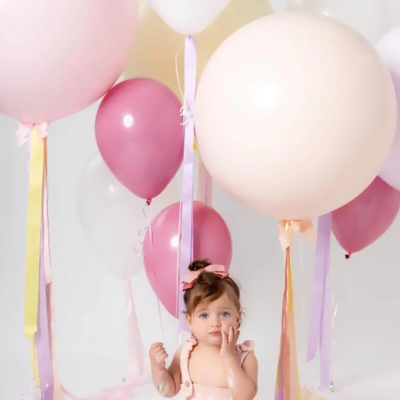 100psc 5inch Pink Orange Balloons Arch Garland Wedding Birthyday Baby Shower Party Background Decor Globos Kids Toys Balloons