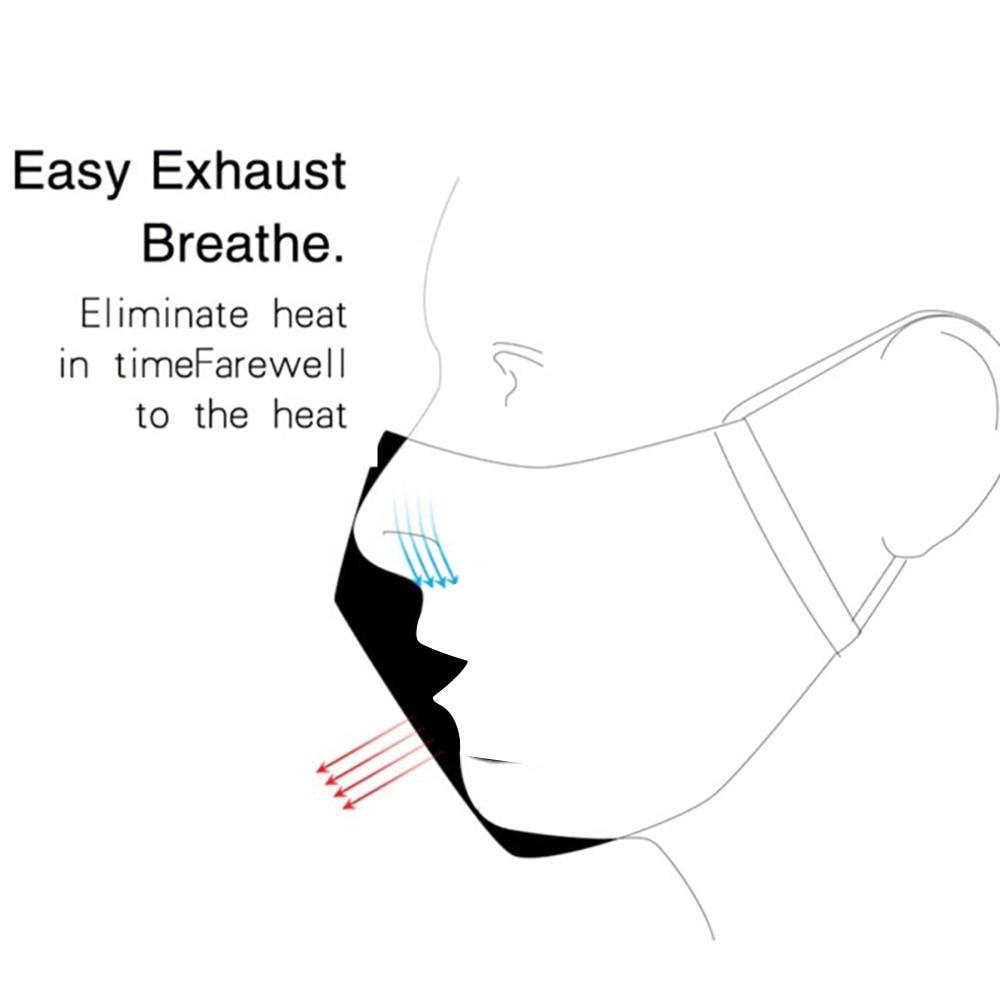 PM2.5 Pamuk Maske Anti Toz Kirliliği Aktif Karbon Filtre Pedi - Güvenlik ve Koruma - Fotoğraf 4