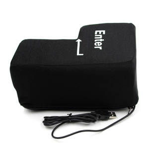 Pillows Key-Button Enter Big Usb Computer-Vent Offices-Stress Relief-Toy Soft-Return