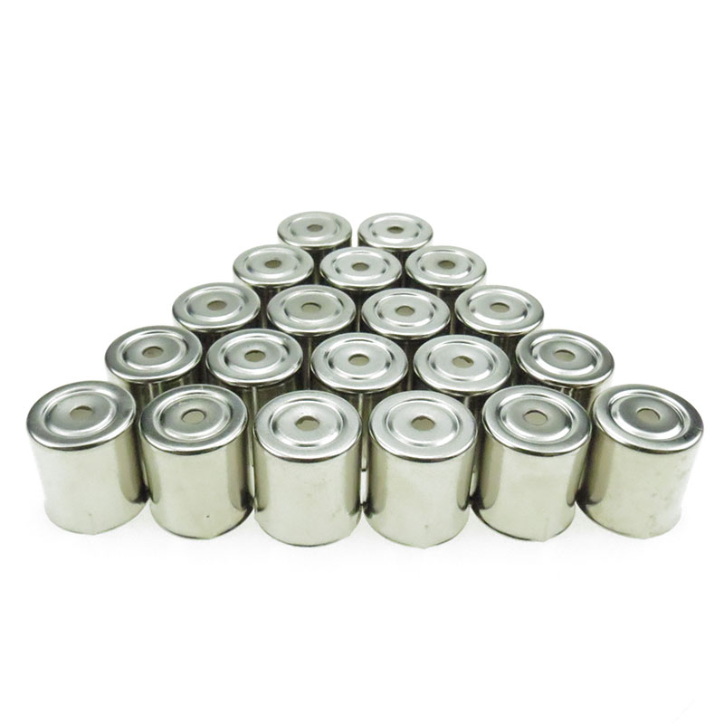 20PCS/LOT Stainless Steel Round Hole Magnetron Caps For Microwave Replacement Parts For Microwave Ovens Copler Microondas Caps
