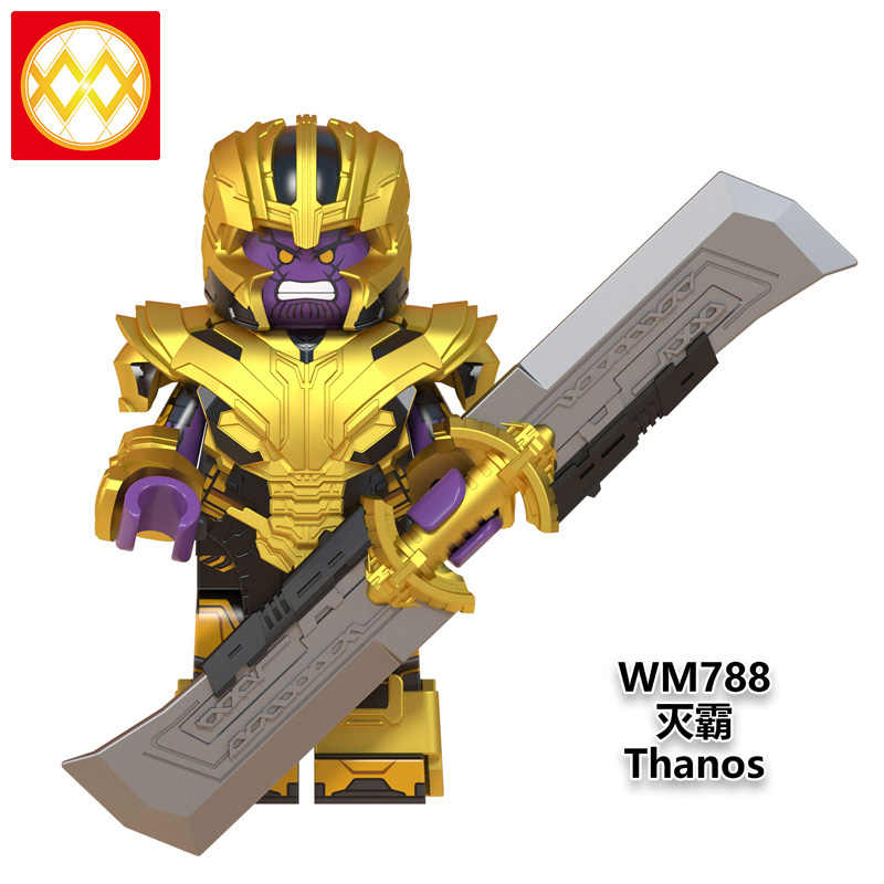 LEGOED WM790 Avengers Shuri Super Heroes Thanos Infinity Gauntlet Iron Man MINIFIGURED คอลเลกชันอาคารบล็อกของเล่น