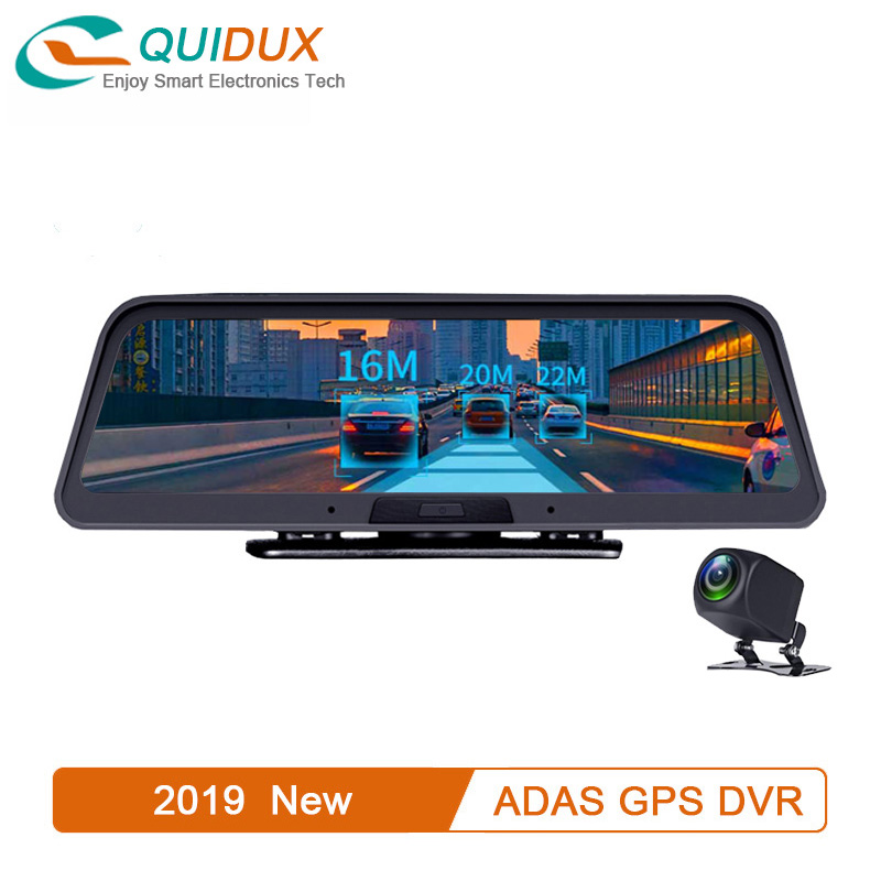 Car DVR Video-Recorder Parking-Monitor Dashcam Android Rearview-Camera Wifi ADAS 4G